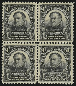 Sale Number 1068, Lot Number 227, 1902-08, Louisiana Purchase Issues$1.00 Black (311), $1.00 Black (311)