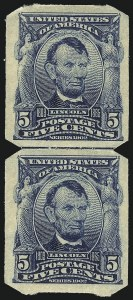 Sale Number 1068, Lot Number 237, 1902-08, Louisiana Purchase Issues5c Blue, U.S. Automatic Vending Co. Ty. I (315), 5c Blue, U.S. Automatic Vending Co. Ty. I (315)