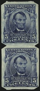 Sale Number 1068, Lot Number 238, 1902-08, Louisiana Purchase Issues5c Blue, U.S. Automatic Vending Co. Ty. I (315), 5c Blue, U.S. Automatic Vending Co. Ty. I (315)