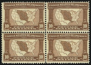 Sale Number 1068, Lot Number 240, 1902-08, Louisiana Purchase Issues1c-10c Louisiana Purchase (323-327), 1c-10c Louisiana Purchase (323-327)