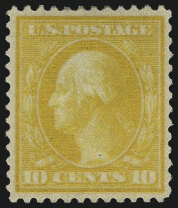 Sale Number 1068, Lot Number 245, Washington-Franklin Issues10c Yellow, Bluish (364), 10c Yellow, Bluish (364)