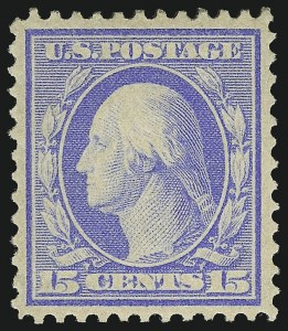 Sale Number 1068, Lot Number 247, Washington-Franklin Issues15c Pale Ultramarine, Bluish (366), 15c Pale Ultramarine, Bluish (366)