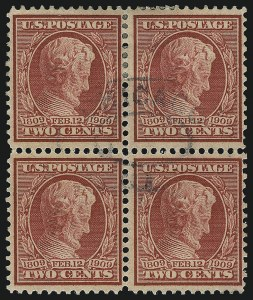 Sale Number 1068, Lot Number 248, Washington-Franklin Issues2c Lincoln, Bluish (369), 2c Lincoln, Bluish (369)