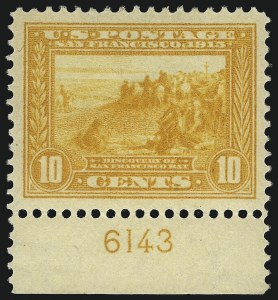 Sale Number 1068, Lot Number 255, Washington-Franklin Issues1c-10c Panama-Pacific (397-404), 1c-10c Panama-Pacific (397-404)
