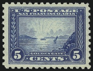 Sale Number 1068, Lot Number 257, Washington-Franklin Issues1c-10c Panama-Pacific (397-404), 1c-10c Panama-Pacific (397-404)
