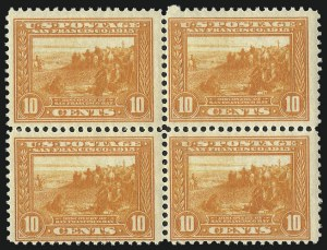 Sale Number 1068, Lot Number 260, Washington-Franklin Issues5c-10c Panama-Pacific (399, 400, 400A), 5c-10c Panama-Pacific (399, 400, 400A)
