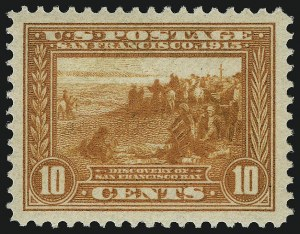 Sale Number 1068, Lot Number 261, Washington-Franklin Issues10c Orange, Panama-Pacific (400A), 10c Orange, Panama-Pacific (400A)