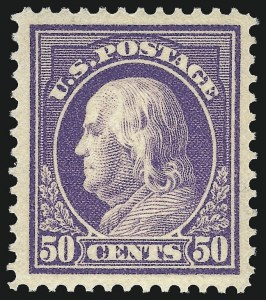 Sale Number 1068, Lot Number 263, Washington-Franklin Issues50c Violet (422), 50c Violet (422)