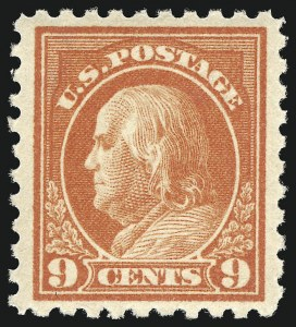 Sale Number 1068, Lot Number 266, Washington-Franklin Issues9c Salmon Red (432), 9c Salmon Red (432)