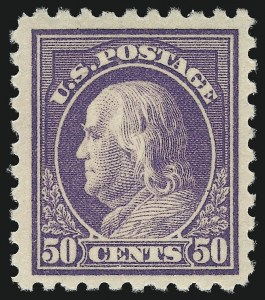 Sale Number 1068, Lot Number 268, Washington-Franklin Issues50c Violet (440), 50c Violet (440)