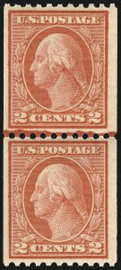 Sale Number 1068, Lot Number 270, Washington-Franklin Issues2c Red, Ty. I, Coil (449), 2c Red, Ty. I, Coil (449)