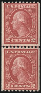 Sale Number 1068, Lot Number 271, Washington-Franklin Issues2c Carmine, Ty. III, Coil (450), 2c Carmine, Ty. III, Coil (450)
