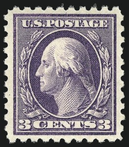 Sale Number 1068, Lot Number 274, Washington-Franklin Issues3c Violet (464), 3c Violet (464)
