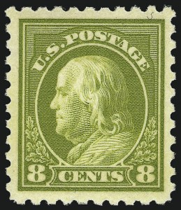 Sale Number 1068, Lot Number 279, Washington-Franklin Issues8c Olive Green (470), 8c Olive Green (470)