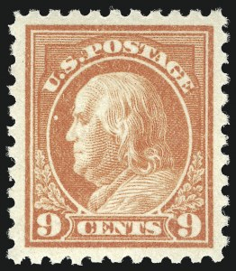 Sale Number 1068, Lot Number 280, Washington-Franklin Issues9c Salmon Red (471), 9c Salmon Red (471)