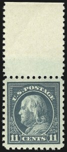 Sale Number 1068, Lot Number 282, Washington-Franklin Issues11c Dark Green (473), 11c Dark Green (473)