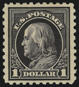 Sale Number 1068, Lot Number 285, Washington-Franklin Issues$1.00 Violet Black (478), $1.00 Violet Black (478)