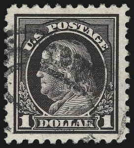 Sale Number 1068, Lot Number 290, Washington-Franklin Issues$1.00 Violet Black (478), $1.00 Violet Black (478)