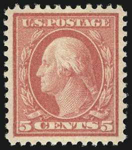 Sale Number 1068, Lot Number 301, Washington-Franklin Issues5c Rose, Error (505), 5c Rose, Error (505)