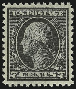 Sale Number 1068, Lot Number 302, Washington-Franklin Issues7c Black (507), 7c Black (507)