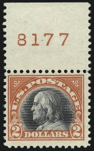 Sale Number 1068, Lot Number 306, Washington-Franklin Issues$2.00, $5.00 1918-20 Issues (523-524, 547), $2.00, $5.00 1918-20 Issues (523-524, 547)