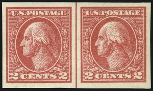 Sale Number 1068, Lot Number 308, Washington-Franklin Issues2c Carmine, Ty. VII, Imperforate (534B), 2c Carmine, Ty. VII, Imperforate (534B)
