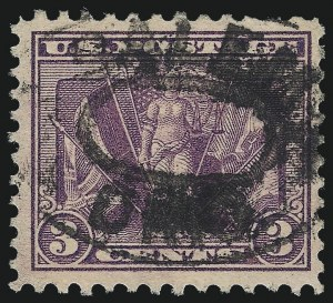 Sale Number 1068, Lot Number 310, Washington-Franklin Issues3c Deep Violet (537a), 3c Deep Violet (537a)