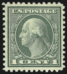 Sale Number 1068, Lot Number 311, Washington-Franklin Issues1c Green, Rotary (545), 1c Green, Rotary (545)