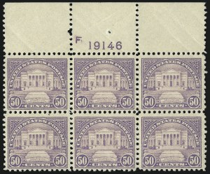 Sale Number 1068, Lot Number 316, 1922-26 and Later Issues50c Lilac (570), 50c Lilac (570)