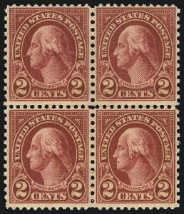 Sale Number 1068, Lot Number 326, 1922-26 and Later Issues2c Carmine, Ty. II (634A), 2c Carmine, Ty. II (634A)