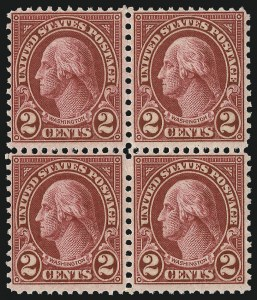 Sale Number 1068, Lot Number 327, 1922-26 and Later Issues2c Carmine, Ty. II (634A), 2c Carmine, Ty. II (634A)