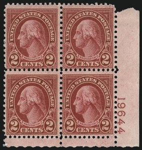 Sale Number 1068, Lot Number 329, 1922-26 and Later Issues2c Carmine, Ty. II (634A), 2c Carmine, Ty. II (634A)