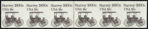 Sale Number 1068, Lot Number 349, 1922-26 and Later Issues18c Surrey Coil, Imperforate (1907a), 18c Surrey Coil, Imperforate (1907a)