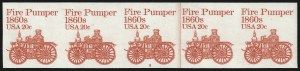 Sale Number 1068, Lot Number 350, 1922-26 and Later Issues20c Fire Pumper Coil, Imperforate (1908a), 20c Fire Pumper Coil, Imperforate (1908a)