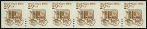 Sale Number 1068, Lot Number 352, 1922-26 and Later Issues25c Bread Wagon Coil, Pair, Imperforate Between (2136b), 25c Bread Wagon Coil, Pair, Imperforate Between (2136b)