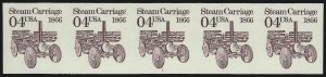 Sale Number 1068, Lot Number 363, 1922-26 and Later Issues4c Steam Carriage Coil, Imperforate (2451a), 4c Steam Carriage Coil, Imperforate (2451a)
