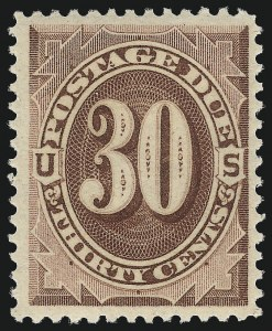 Sale Number 1068, Lot Number 407, Special Delivery thru Other Back-of-Book30c Red Brown (J20), 30c Red Brown (J20)