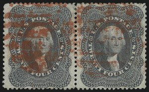 Sale Number 1068, Lot Number 56, 1857-60 Issue24c Gray Lilac (37), 24c Gray Lilac (37)