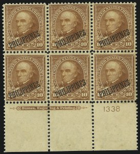Sale Number 1068, Lot Number 729, U.S. Possessions: Philippines, thru 1926PHILIPPINES, 1899, 10c Orange Brown, Ty. II (217A), PHILIPPINES, 1899, 10c Orange Brown, Ty. II (217A)