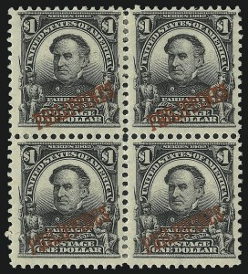 Sale Number 1068, Lot Number 752, U.S. Possessions: Philippines, thru 1926PHILIPPINES, 1903, $1.00 Black (237), PHILIPPINES, 1903, $1.00 Black (237)