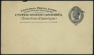 Sale Number 1068, Lot Number 832, U.S. Possessions: Philippines, Back-of-Book and Group LotsPHILIPPINES, 1903, 1c McKinley, 2c Liberty Postal Cards, Shifted Ovpts. (UX5 var, UX6 var), PHILIPPINES, 1903, 1c McKinley, 2c Liberty Postal Cards, Shifted Ovpts. (UX5 var, UX6 var)