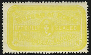 Sale Number 1068, Lot Number 839, U.S. Possessions: Philippines, Back-of-Book and Group LotsPHILIPPINES, 1906-34 (no value) Official Seals (OX1-OX10), PHILIPPINES, 1906-34 (no value) Official Seals (OX1-OX10)