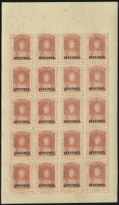 Sale Number 1068, Lot Number 887, Hawaii: Stampless thru 1868 Kamehameha III IssuesHAWAII, 1868, 13c Dull Rose, Re-Issue, Black Specimen Ovpt. (11Sa), HAWAII, 1868, 13c Dull Rose, Re-Issue, Black Specimen Ovpt. (11Sa)