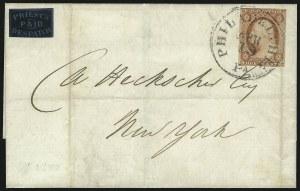 Sale Number 1071, Lot Number 4378, Carriers and Locals, Cont., Sanitary Fair, Christmas SealsPriest's Despatch, Philadelphia Pa., (2c) Black on Blue Wove (121L7), Priest's Despatch, Philadelphia Pa., (2c) Black on Blue Wove (121L7)