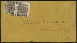 Sale Number 1073, Lot Number 322, Mobile Ala. thru New Orleans La.New Orleans La., 5c Yellow Brown on Off-White (62X5), New Orleans La., 5c Yellow Brown on Off-White (62X5)