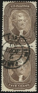 Sale Number 1074, Lot Number 559, 5c 1857-60 Issue (Scott 27-30A)5c Brown (29), 5c Brown (29)