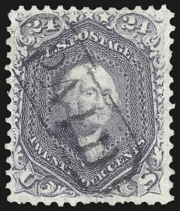 Sale Number 1074, Lot Number 733, 24c Lilac, Steel Blue, Violet Shades, 1861 Issue (Scott 70-70d)24c Red Lilac (70), 24c Red Lilac (70)