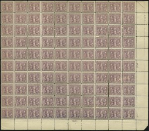 Sale Number 1075, Lot Number 1166, 20th Century Issues3c Light Reddish Violet (537b), 3c Light Reddish Violet (537b)