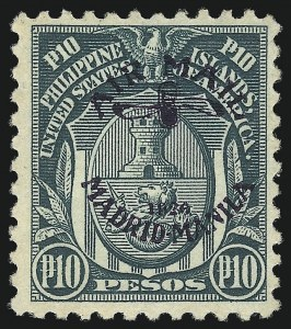 Sale Number 1075, Lot Number 1248, U.S. Possessions and HawaiiPHILIPPINES, 1926, 10p Deep Green, Air Post (C15), PHILIPPINES, 1926, 10p Deep Green, Air Post (C15)