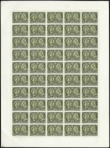 Sale Number 1075, Lot Number 1279, Worldwide Stamps: CanadaCANADA, 1897, -1/2c-$5.00 Jubilee, Plate Proofs on India (Unitrade 50P-65P), CANADA, 1897, -1/2c-$5.00 Jubilee, Plate Proofs on India (Unitrade 50P-65P)